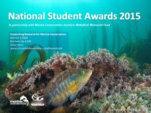 National Student Awards 2015